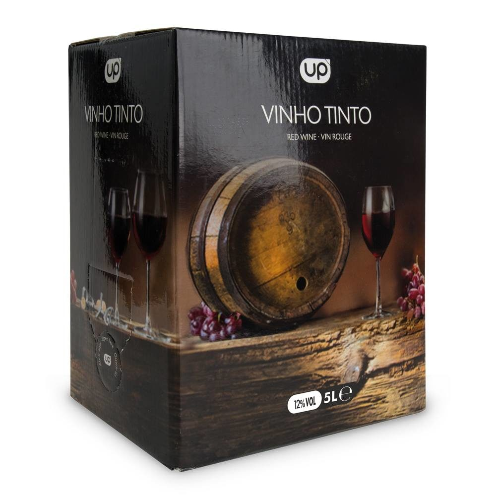 Vinho de Mesa UP Tinto 12º bag-in-box