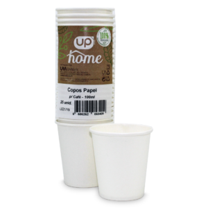 Copo Papel p/Café UP Home 100ml