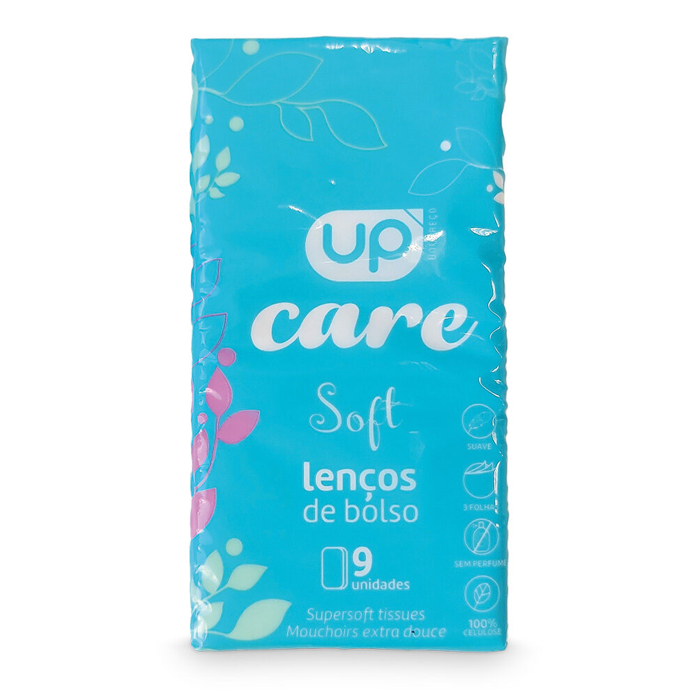 Lenços de Bolso UP Care FT